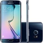 "Smartphone Samsung G925i Galaxy S6 Edge Desbloqueado Vivo Android 5.0 Tela 5.1"" 64GB 4G 16MP - Preto"