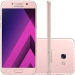 "Smartphone Samsung Galaxy A5 Dual Chip Android 6.0 Tela 5,2"" Octa-Core 1.9GHz 64GB 4G Câmera 16MP - Rosa"