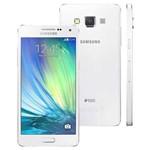 Smartphone Samsung Galaxy A5 Single Chip A500m Android 4.4 Memória Interna 16gb Câmera 13mp Branco