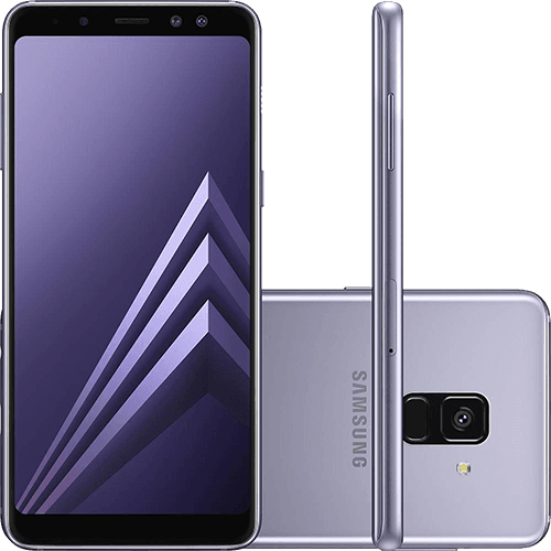 "Smartphone Samsung Galaxy A8 Plus Dual Chip Android 7.1 Tela 6"" Octa-Core 2.2GHz 64GB 4G Câmera 16MP - Ametista"