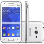 """Smartphone Samsung Galaxy Ace 4 Duos Dual Chip Desbloqueado Android 4.4 Tela 4"""" 4GB 3G Câmera 5MP - Branco"""