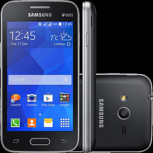 """Smartphone Samsung Galaxy Ace 4 Lite Duos Dual Chip Desbloqueado Android 4.4 Tela 4"""" 4GB 3G Wi-Fi Câmera 3MP - Preto"""