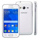 Smartphone Samsung Galaxy Ace 4 Neo Sm-G318m Branco Single Chip com Tela de 4, Android 4.4, Câmera