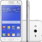 "Smartphone Samsung Galaxy Core 2 Duos G355M Dual Chip Android 4.4 Tela 4.5"" 3G Wi-Fi Câmera 5MP - Branco"