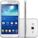 "Smartphone Samsung Galaxy Gran 2 Duos Dual Chip Desbloqueado Android 4.3 Tela 5.3"" Câmera 8MP TV Digital - Branco"