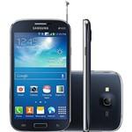 "Smartphone Samsung Galaxy Gran Neo Duos Dual Chip Desbloqueado Android 4.2 Tela 5"" 8GB 3G Wi-Fi Câmera 5MP TV Digital - Preto"