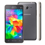 Smartphone Samsung Galaxy Gran Prime Duos, 8gb, Preto, Quadcore 1.3ghz, Camera 8mp