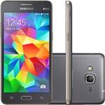 "Smartphone Samsung Galaxy Gran Prime Duos Dual Chip Desbloqueado Tim Android 4.4 Tela 5"" 8GB 3G Wi-Fi Câmera 8MP Cinza"