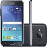 """Smartphone Samsung Galaxy J2 Duos Dual Chip Android Tela 4.7"""" 8GB 4G Wi-Fi Câmera 5MP com TV Digital - Preto"""