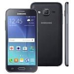"Smartphone Samsung Galaxy J2 Duos - Tela 4.7"" Hd, 8gb, Quad Core 1.3ghz, Dual Chip - Preto - Sm-J20"