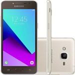"""Smartphone Samsung Galaxy J2 Prime Dual Chip Android 6.0.1 Tela 5"""" Quad-Core 1.4 GHz 16GB 4G Câmera 8MP - Dourado"""