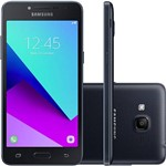"Smartphone Samsung Galaxy J2 Prime Dual Chip Android 6.0.1 Tela 5"" Quad-Core 1.4 GHz 16GB 4G Câmera 8MP - Preto"