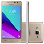 """Smartphone Samsung Galaxy J2 Prime G532M 16GB Tela 5"""" Câmera 8MP Dourado - Tim"""