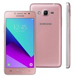 "Smartphone Samsung Galaxy J2 Prime TV Dual Chip Android Tela 5"" 8GB 4G Câmera 8MP - Rosê"