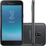 "Smartphone Samsung Galaxy J2 Pro Dual Chip Android 7.1 Tela 5"" Quad-Core 1.4GHz 16GB 4G Câmera 8MP - Preto"