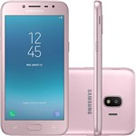 "Smartphone Samsung Galaxy J2 Pro Dual Chip Android 7.1 Tela 5"" Quad-Core 1.4GHz 16GB 4G Câmera 8MP - Rosa"