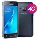 """Smartphone Samsung Galaxy J1 2016 Duos Preto com Dual Chip, Tela 4.5"""", 3g, Câm.De 5mp e Frontal de"""