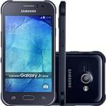 """Smartphone Samsung Galaxy J1 Ace Duos Dual Chip Desbloqueado Android 4.4 Tela 4.3"""" 4GB 3G Câmera 5MP - Preto"""