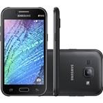 Smartphone Samsung Galaxy J1 Duos J100M Desbloqueado – Android 4.4, Tela de 4.3``, 4GB, Câmera de 5MP, 4G, Quad Core 1.2Ghz