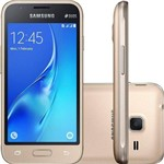 "Smartphone Samsung Galaxy J1 Mini Duos 8GB Dual Chip Quadcore 4"" Câmera 5MP 4G"