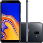 """Smartphone Samsung Galaxy J6+ 32GB Dual Chip Android Tela Infinita 6"""" Quad-Core 1.4GHz 4G Câmera 13 + 5MP (Traseira) - Preto"""