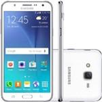Smartphone Samsung Galaxy J7 Duos, Branco, J700M, Tela de 5.5, 16GB, 13MP
