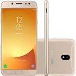 """Smartphone Samsung Galaxy J7 Pro Android 7.0 Tela 5.5"""" 64GB 4G Wi-Fi Câmera 13MP Dourado - Desbloqueado Claro"""