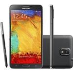Smartphone Samsung Galaxy Note III Preto Android 4.3 Câmera de 13 MP Wi-Fi 4G Caneta S Pen