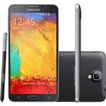 """Smartphone Samsung Galaxy Note 3 Neo Duos Dual Chip - Android 4.3 Tela 5.5"""" Câmera 8MP com Caneta S Pen - Preto"""