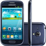 "Smartphone Samsung Galaxy S III Mini Desbloqueado Android 4.2 Tela 4"" 8GB 3G Wi-Fi Câmera 5 MP - Grafite"