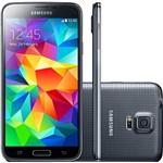 "Smartphone Samsung Galaxy S5 Desbloqueado Tim Android 4.4.2 Tela 5.1"" 16GB 4G Wi-Fi Câmera 16MP - Preto"