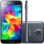 Smartphone Samsung Galaxy S5 Duos SM-G900M Dual Chip Desbloqueado Android 4.4 16GB 4G Wi-Fi GPS - Preto