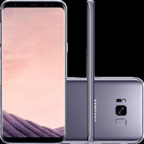 "Smartphone Samsung Galaxy S8+ Dual Chip Android 7.0 Tela 6.2"" Octa-Core 2.3 GHz 64GB Câmera 12MP - Ametista"