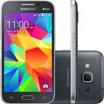 "Smartphone Samsung Galaxy Win 2 Duos G360M Dual Chip Desbloqueado Oi Android 4.4 Tela 4.5"" 8GB 4G 5MP Cinza"