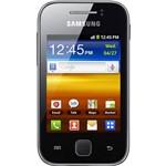 """Smartphone Samsung Galaxy Y Prata Desbloqueado Claro - GSM, Android 2.3, Processador 832MHz, Câmera de 2MP, 3G, Wi-Fi, Touchscreen 3"""", Teclado Swype, Cartão de Memória 2GB"""