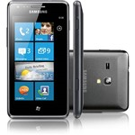 Smartphone Samsung Omnia M Desbloqueado Câmera 5MP 3G Wi Fi Memória Interna 4GB - Preto