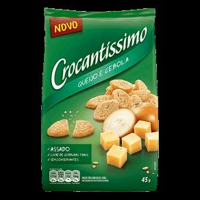 Snack de Trigo Crocantíssimo Queijo e Cebola 45g