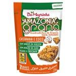 Snack Granola Amazonia 7 Grãos Castanha e Coco 35g - da Magrinha