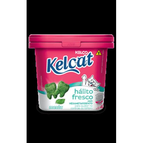 Snack Kelco Kelcat Menta para Gatos 40g