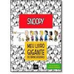 Snoopy: Meu Livro Gigante de Brincadeiras