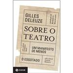 Sobre o Teatro - um Manifesto de Menos
