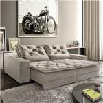 Sofa 5020 - 3 Lug Retratil e Reclinavel 2 Mod 80 BR 25(dallas Rio de Janeiro) 2,10m Tec 1001 Capuccino 210