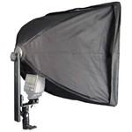 Softbox para Flash Dedicado Speedlight Tipo Sombrinha - 40x40cm