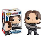 Soldado Invernal Winter Soldier - Capitão América Civil War Funko Pop