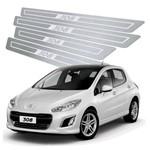 Soleira de Porta Peugeot 308 2011 Até 2019 Aço Inox