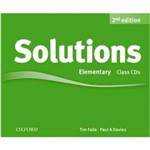 Solutions Elementary - Class Audio CD - 2 Ed.
