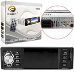 Som Automotivo Mp5 Player Tela 4 Fm Usb Aux 12v Controle 4204 Generico