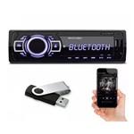 Som Automotivo New One Bluetooth MP3 Player Usb SD FM Aux