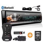 Som Automotivo Pioneer Bluetooth Mp3 Usb + Controle Longa Distância Stetsom