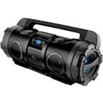 Som Portátil Boombox SP163 80W com Entrada USB, SD, AUX e Rádio FM Preto - Multilaser
